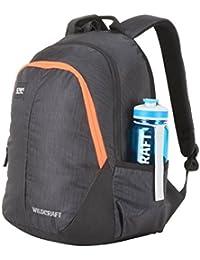 Wildcraft Polyester 29 Ltrs Black School Backpack (Wiki 2 Hue 2)