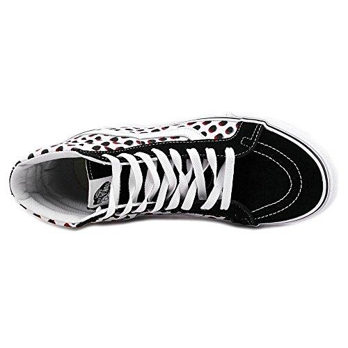 Vans Sk8 Hi Reissue Spotted Americana Black Classic Hi Scarpe Nero