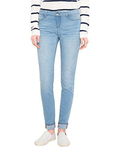 Desigual Denim_second Skin, Skinny Jeans Donna Blu (Denim Light Wash 5007)