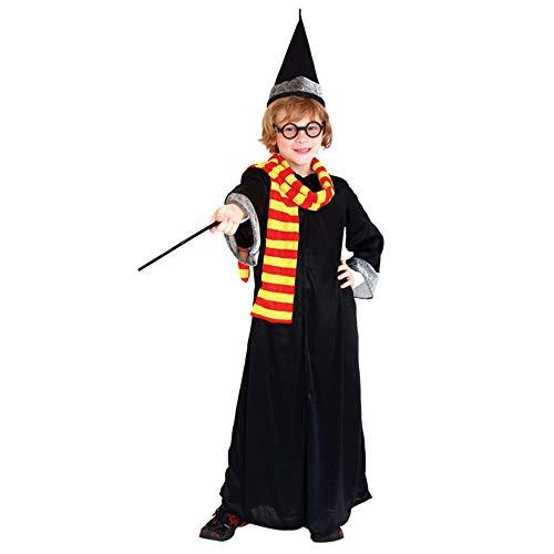 Wagsiyi costume da festa vestito da 5 pezzi del mago prom gioco di ruolo (dimensione : l)