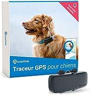 Tractive collier GPS pour chien, Traceur avec portée illimitée, Suivi d'activité, Étanche, Léger (Dernier