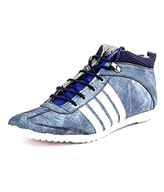 DK Derby Kohinoor Stylish Blue Casual Shoes
