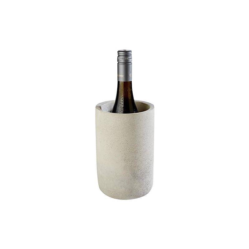 Aps Flaschenkhler Element Beton Grau 28 X 28 X 30 Cm