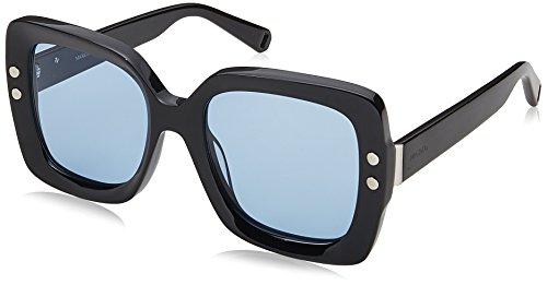 Max Max & Co. Damen CO.318/S 76 807 53 Sonnenbrille, Black/Bluee,