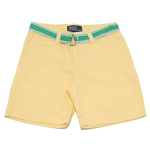 Ralph Lauren 1909S Bermuda Bimbo Giallo Pantalone coto Short Pant Kid [7 years]