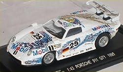 Porsche 911 993 Gt1 GT 1 Le Mans 24h 24 H 1995 Weiss Nr 25 1/43 High Speed Modellauto Modell Auto