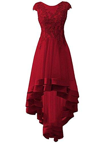 Damen Abendkleider Lang Ballkleider Tüll Brautjungfernkleider Hochzeitskleider Festkleider...