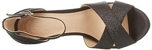 Guess Damen Footwear Dress Sandal Plateaupumps Nero (Black)