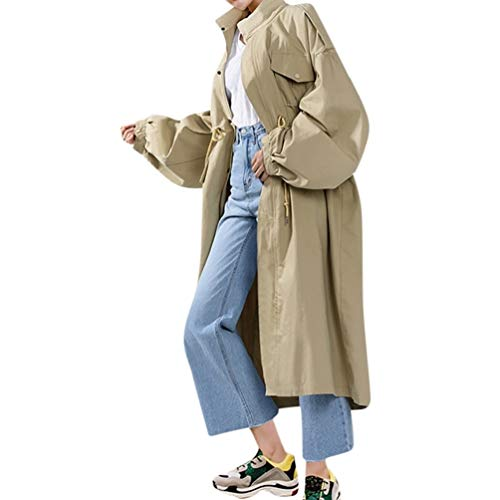 (PAOLIAN Damen Mantel Langarm Strickjacke Wintermantel Outwear Winter Warme Jacke Mantel Oberbekleidung)