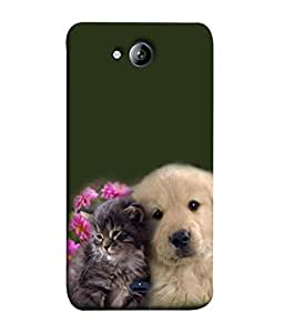 PrintVisa Two Beauties 3D Hard Polycarbonate Designer Back Case Cover for Micromax Bolt Q338