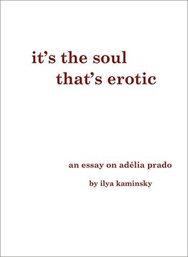 It's the Soul That's Erotic: An Essay on Adelia Prado thumbnail