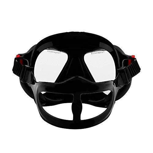 OOFAYWFD Unterwasserkamera Einfache Tauchermaske Scuba Schnorchel-Schwimmbrille Für Gopro,Black