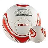 Slazenger 0000301 Balón Challenge, Negro, S