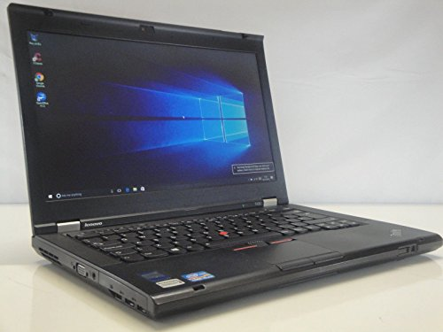 Lenovo ThinkPad T430 Laptop 2.6Ghz Core i5 (3rd Generation) 8GB RAM 320Gb HDD Wireless DVD Fast Windows 10 (64 Bit) (Certified Refurbished)