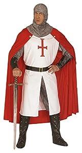 Widman - Disfraz de caballero medieval para hombre, talla L (44493)