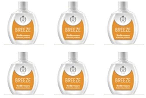 6 Deodoranti Breeze Squeeze Deodorante Profumato Mediterraneo per il corpo