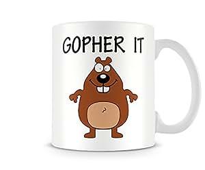 Gopher ES Bedruckte Tasse