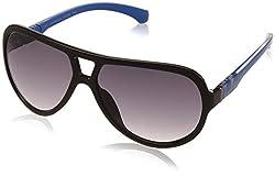 Calvin Klein Jeans Gradient Aviator Unisex Sunglasses - (Calvin Klein Jeans 740 003 60 S 60 Grey Color)