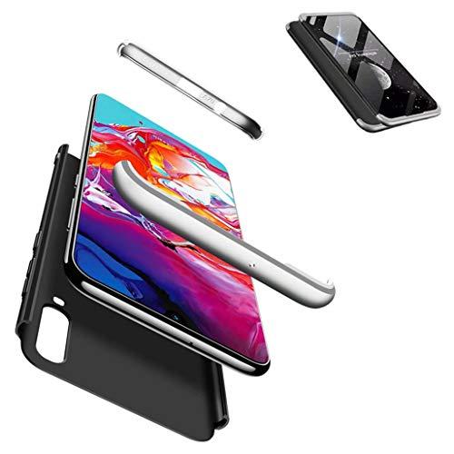 JJWYD Schutzhülle für Samsung Galaxy A8s Hülle + Schutz vor Kratzern [Ultra-Delgado ] [Leicht] Matt Anti-Kratz- & Rutschfestes Gehäuse Gold Rosa
