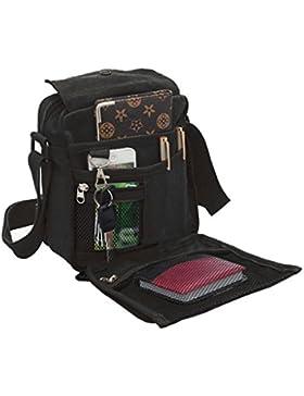 Liying Neu Umhängetasche Rucksack Tasche Retro Canvas Handtasche Praktisch Aktentaschen schultasche