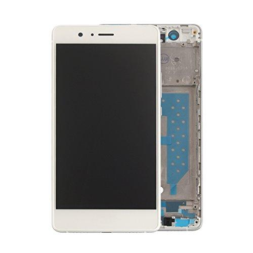 HYYT LCD Display+Touchscreen Digitizer+Rahmen für Huawei P9 lite mit Frei Werkzeuge (Weiß)