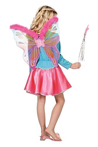 Wilbers Flügel in pink mit Marabu Schmetterling Fee Karneval -