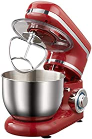 Kitchen Mini Stand Mixer, 1200W Die Cast Stand Mixers, Speeds Cake Mixer Dough Maker, with Bowl, Dough Hook, B