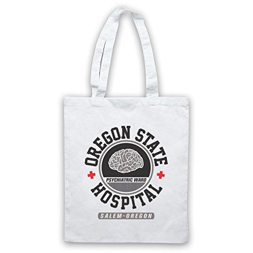 Inspiriert durch One Flew Over the Cuckoos Nest Oregon State Hospital Inoffiziell Umhangetaschen, Weis (State Hospital)