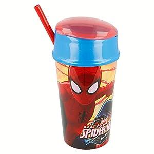 Vaso Snack 400 ML | Spiderman Red Webs