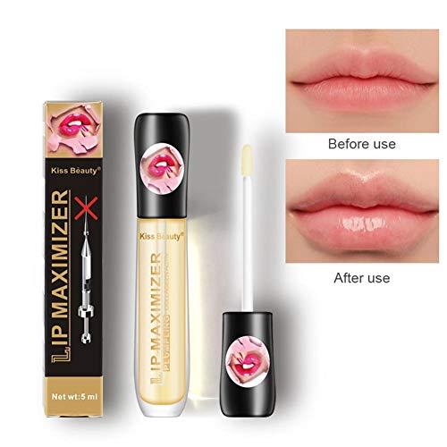 Trattamento per labbra Siero Volumizzante Plumper labbra Formulato per lucentezza delle labbra con formulazione naturale Rende le labbra più piene, idratate, più morbide e levigate