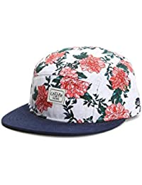Cayler & Sons 5-Panel Cap - ONE NIGHT blanc / roses