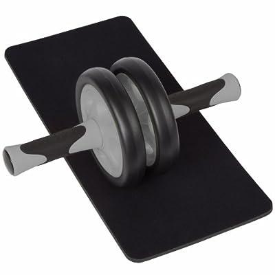 Ultrasport Bauchtrainer AB Roller inkl. Knieauflage und Trainingsanleitung