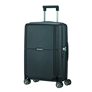 SAMSONITE Orfeo – Spinner 55/20 Equipaje de mano, 55 cm, 37 liters, Negro (Ink Black)