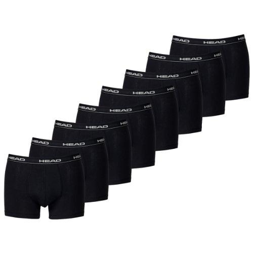 HEAD Men Boxershort 841001001-200 Basic Boxer 8er Pack black
