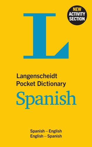 Dictionary Spanish: Spanisch-Englisch/Englisch-Spanisch (Langenscheidt Pocket Dictionaries) ()
