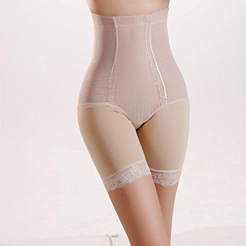 XBR Keine spur von damenunterwäsche Taille unterleib erhielt eine dünne körper Postpartale Gewicht Bauch Hose, Hose,Hautfarbe,XL