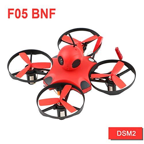 makerstack FPV Mini Drohne BNF Micro FPV II Quad 90mm Racing Drohne mit DSM2 Empfänger F3 Brushed Flight Controller, Drohne (DSM)