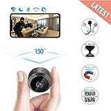 Mini cámaras espía, cámara espía inalámbrica Hidden WiFi, cámara de Movimiento, visión Nocturna, cámara de vigilancia HD 1080P para Home Office, Apta para Interiores y Exteriores