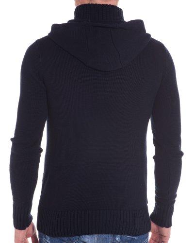 BLZ jeans - Vest marineblau Hoodie Blau