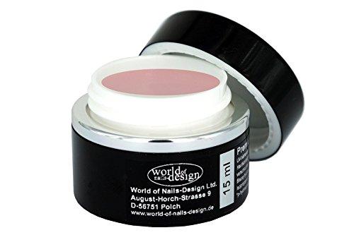 World of Nails-Design Premium LED/UV-Gel 1 Phasen rosa milchig 15 ml