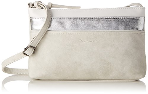 Tamaris - Khema Crossbody Bag S, Borse a tracolla Donna Bianco (Off White Comb)