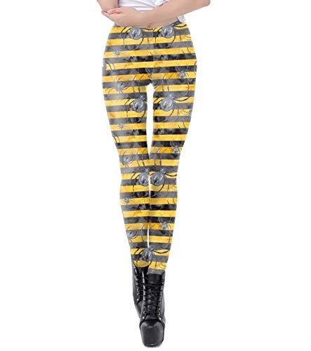Kostüm Treat Or Mädchen Trick - Dawwoti Dame Strumpfhose für Halloween-Mädchen-Weicher Versteinern Hosen für Trick or Treat