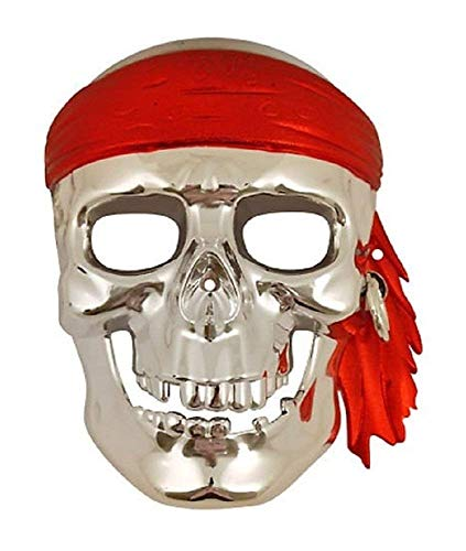 Inception Pro Infinite Maske - Schädel - Pirat - Karneval - Halloween - Mann - Frau (Cartoon Kostüme Charakter Erwachsene)