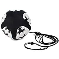 Kicking Training Tool, Personal Football Coach Improve The Skills Of Football Fit All Size For Children Nailon black, by LC Prime