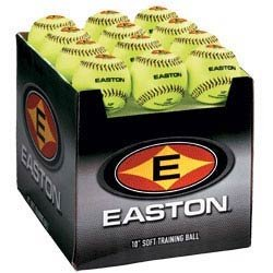 Easton Fall mit Menge von 24Soft Training Bälle, neon