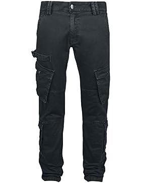 R.E.D. by EMP Rusty Piece Of Work Pantalones Negro