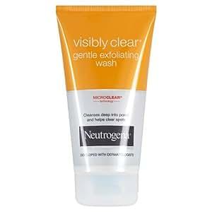 Neutrogena - Visibly Clear Gel Nettoyant Exfoliant Douceur - Tube 150 ml