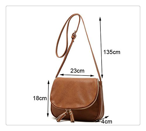 Purposefull Crossbody borsetta Brown