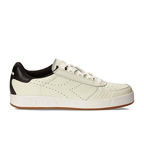 Diadora Premium Bianco Bassi elite L Sneakers Ottico B Nero Homme qEnUrwqx