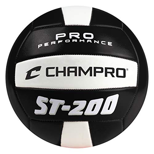 Champro Sport st-200Strand Volleyball, Schwarz